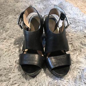 Black Michael Kors Heels